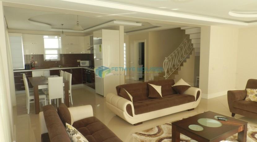 Вилла 5 спальных комнат в аренду Фетхие 25