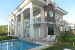Снять приват виллу с сауной и бассейном в Турции 01