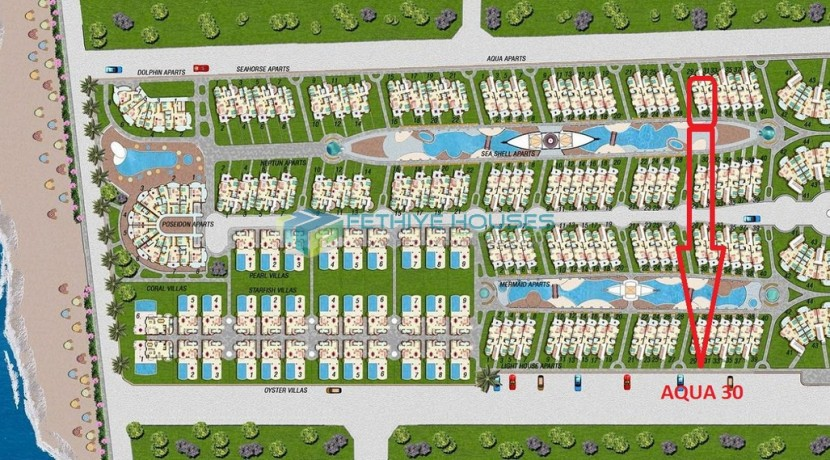 Продажа апартаментов в Фетхие Турция 14
