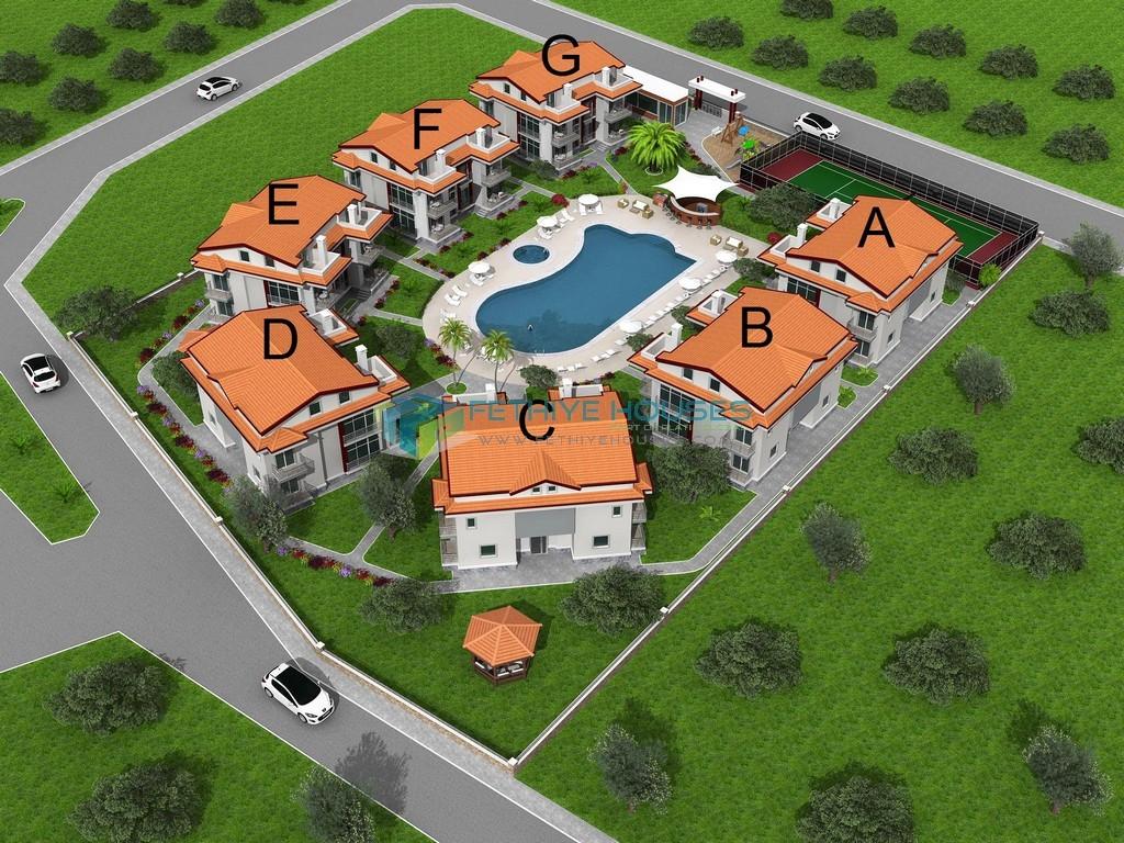 апартаментов в апарткомплексе