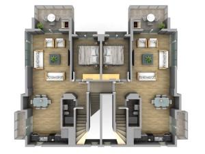 3х комнатный апартамент